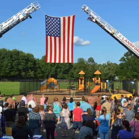 Panther Valley Elementary opens new recess area ahead of new school year | Times News Online