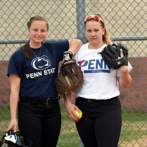 Siblings are successful pitcher-catcher battery for