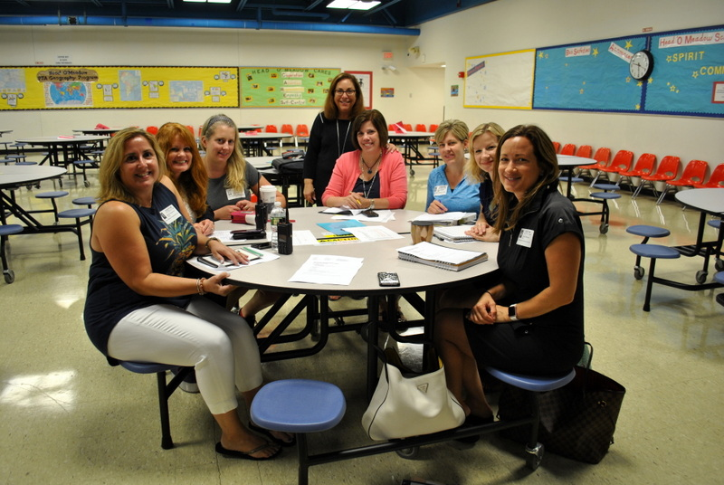 Head O' Meadow PTA Funds New Lunch Tables | The Newtown Bee