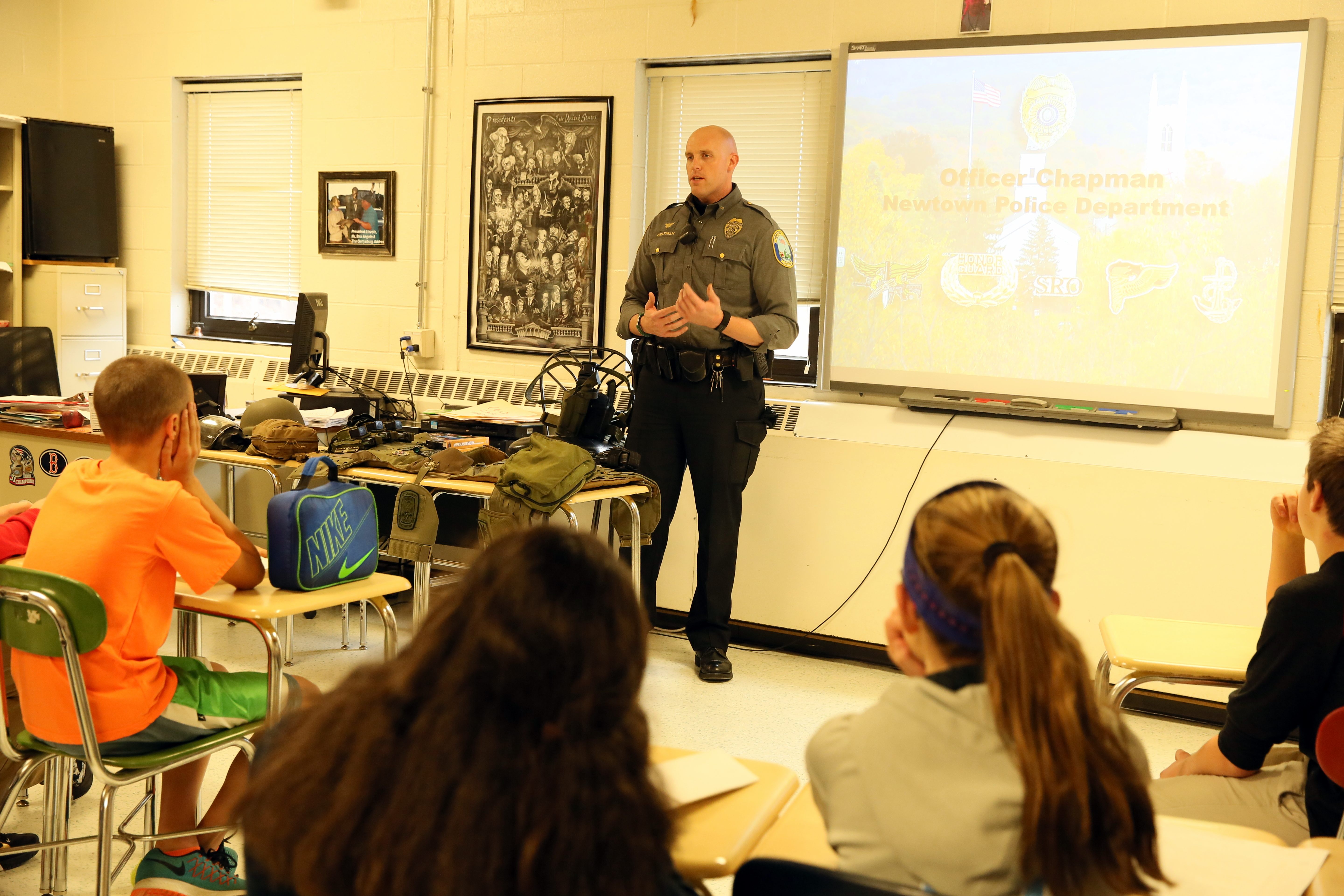 NMS Eighth Graders Learn About Different Careers   The Newtown Bee
