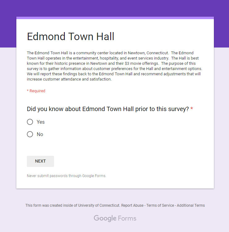 Town Hall To Benefit From UConn Student Survey   The Newtown Bee