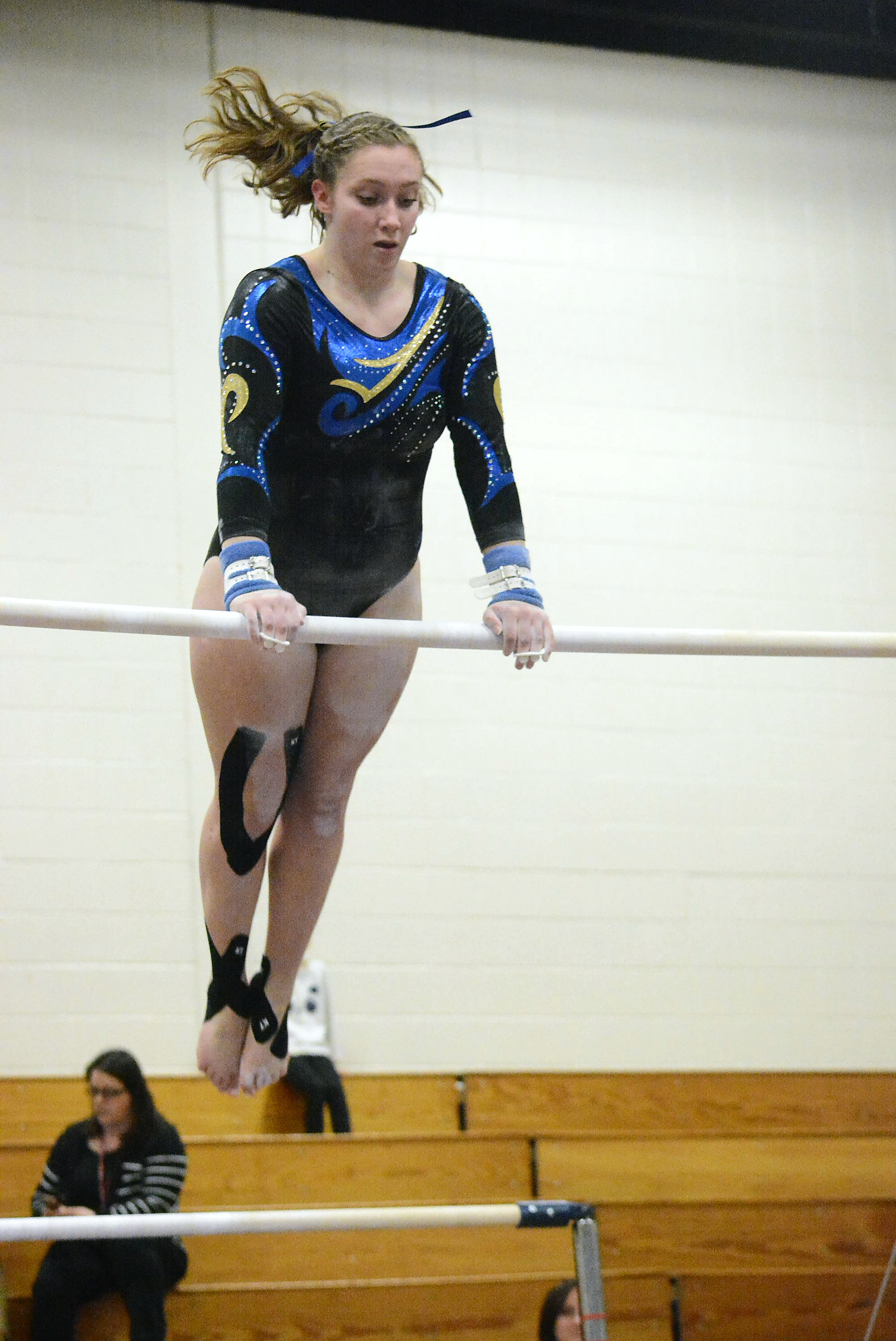 Opposing Gymnasts And Coaches Work Together To Get Better | The