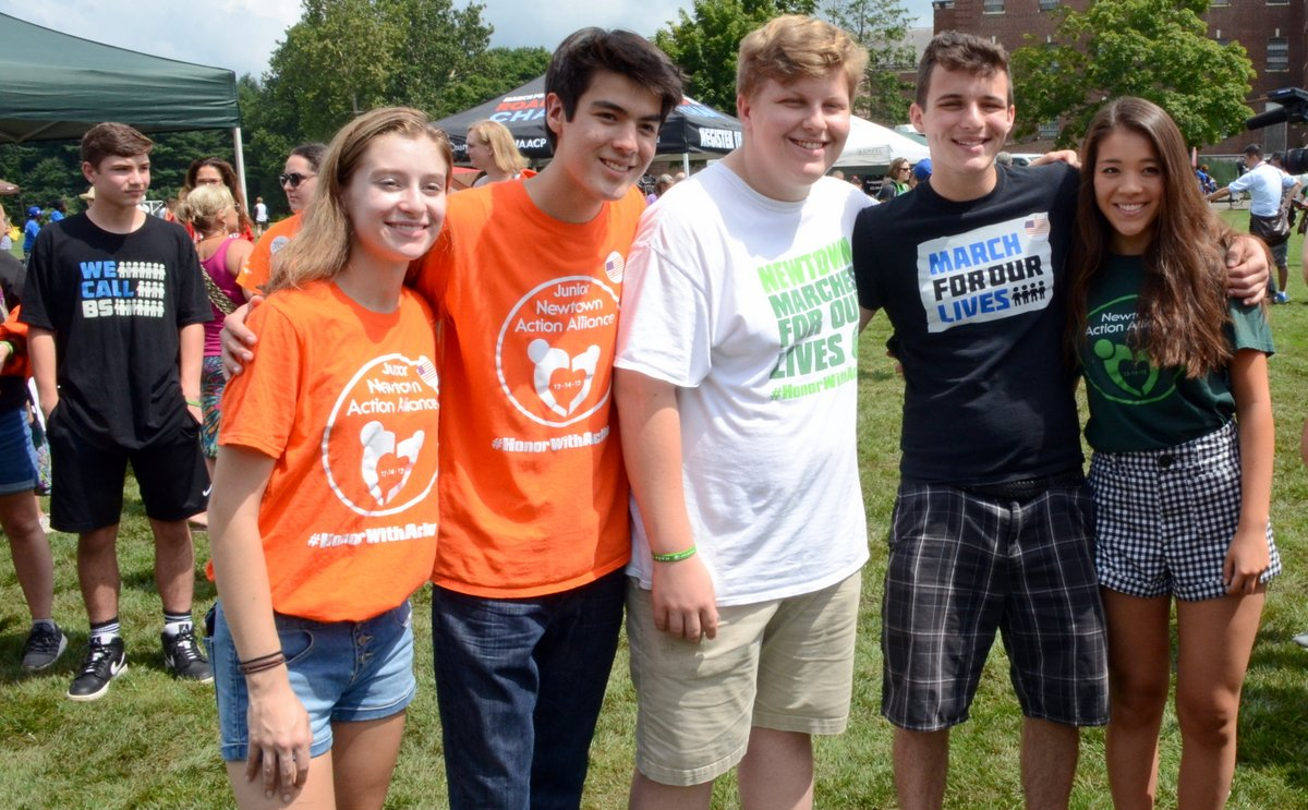 Survivors From Sandy Hook Parkland Joined Together For Road To