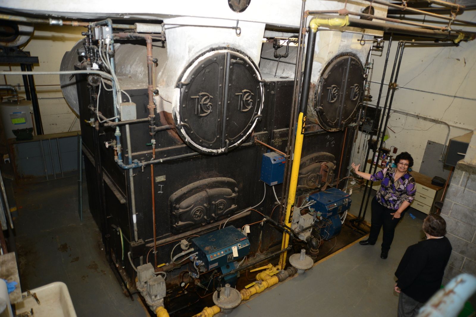 Replacing Relics Of Newtown History: New Boilers For Edmond Town ...
