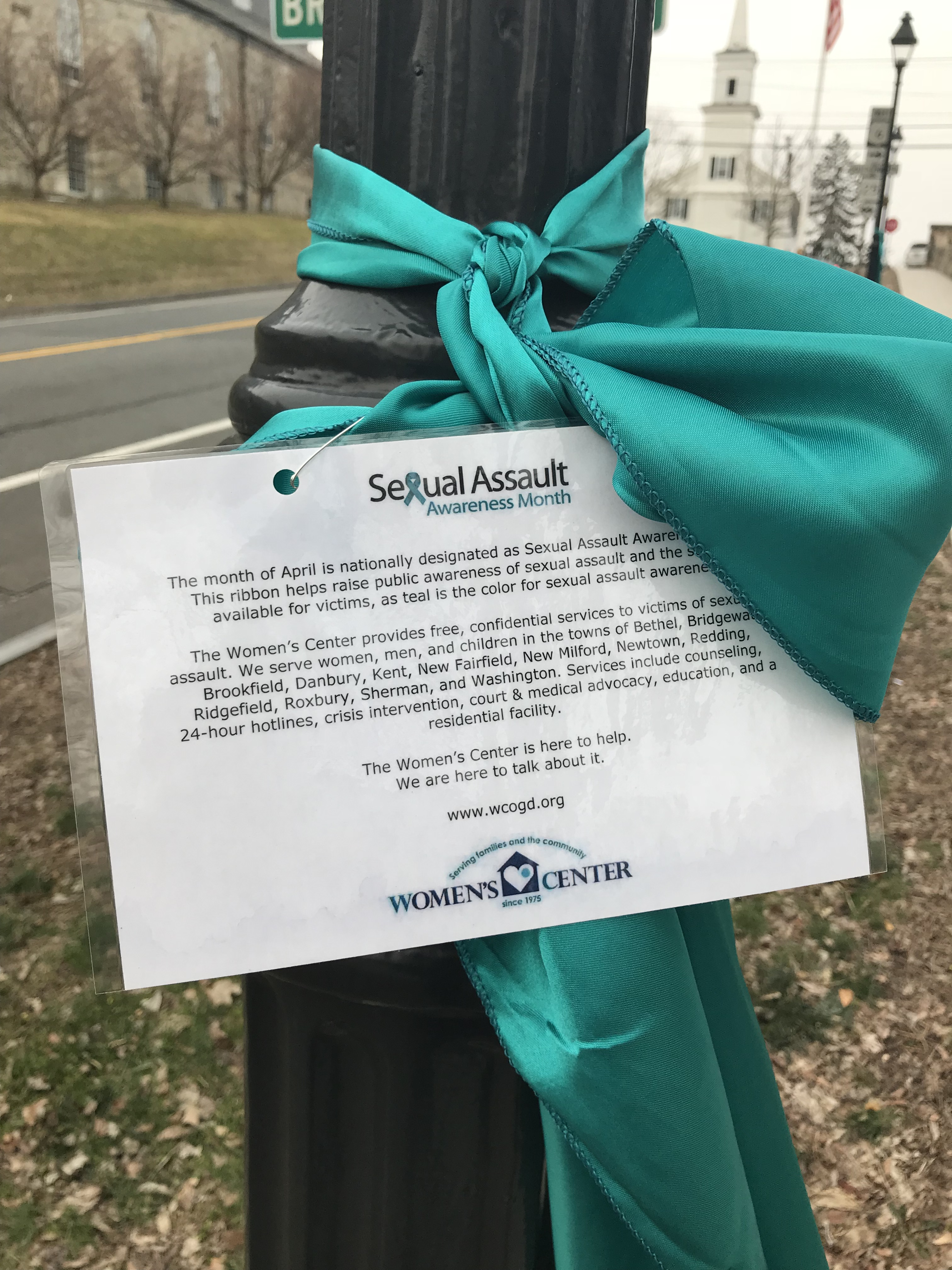 Teal Ribbons Signal Sexual Assault Awareness Month | The Newtown Bee
