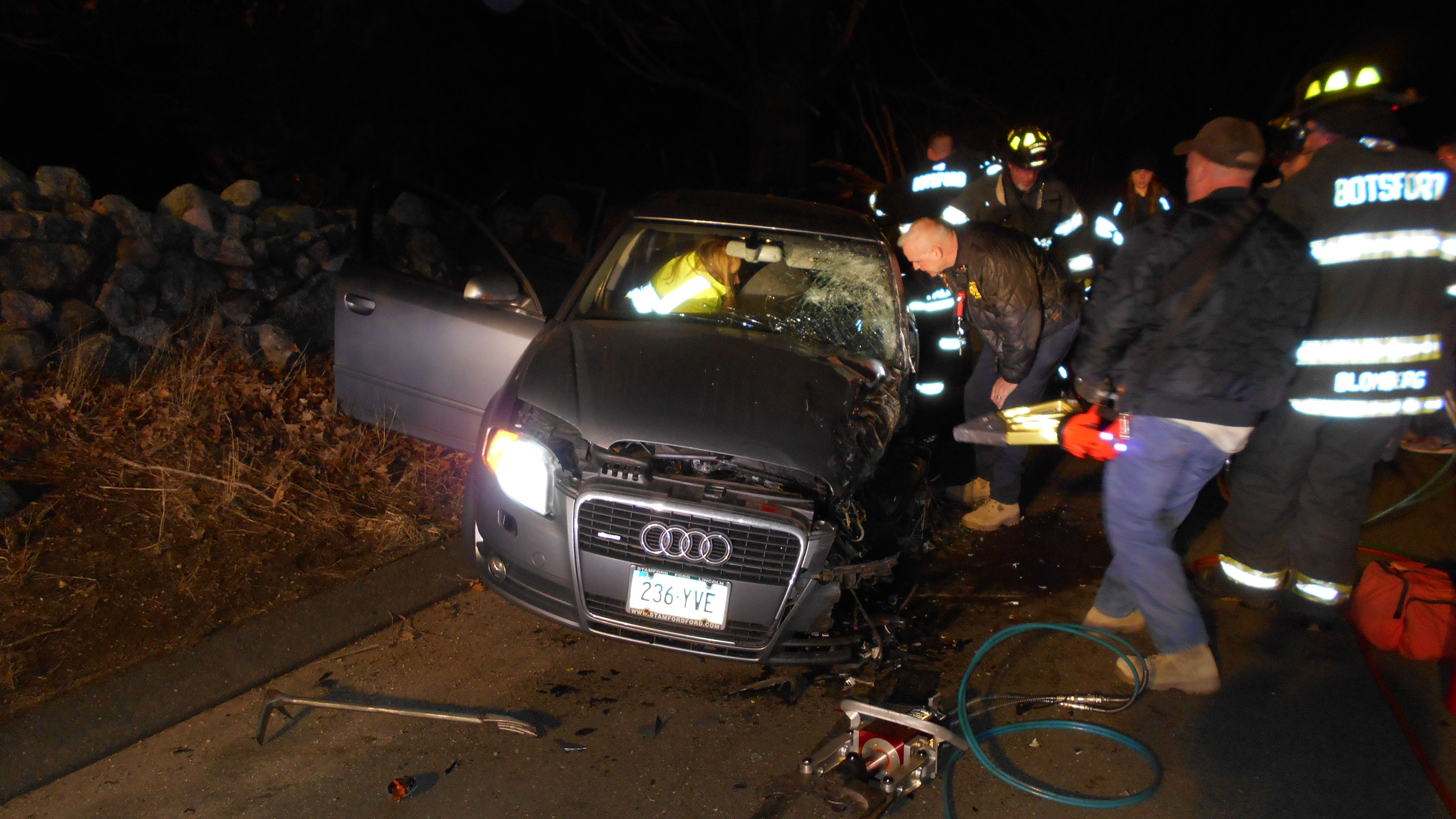 Serious Crash During Illegal Street Racing Sends Three To The