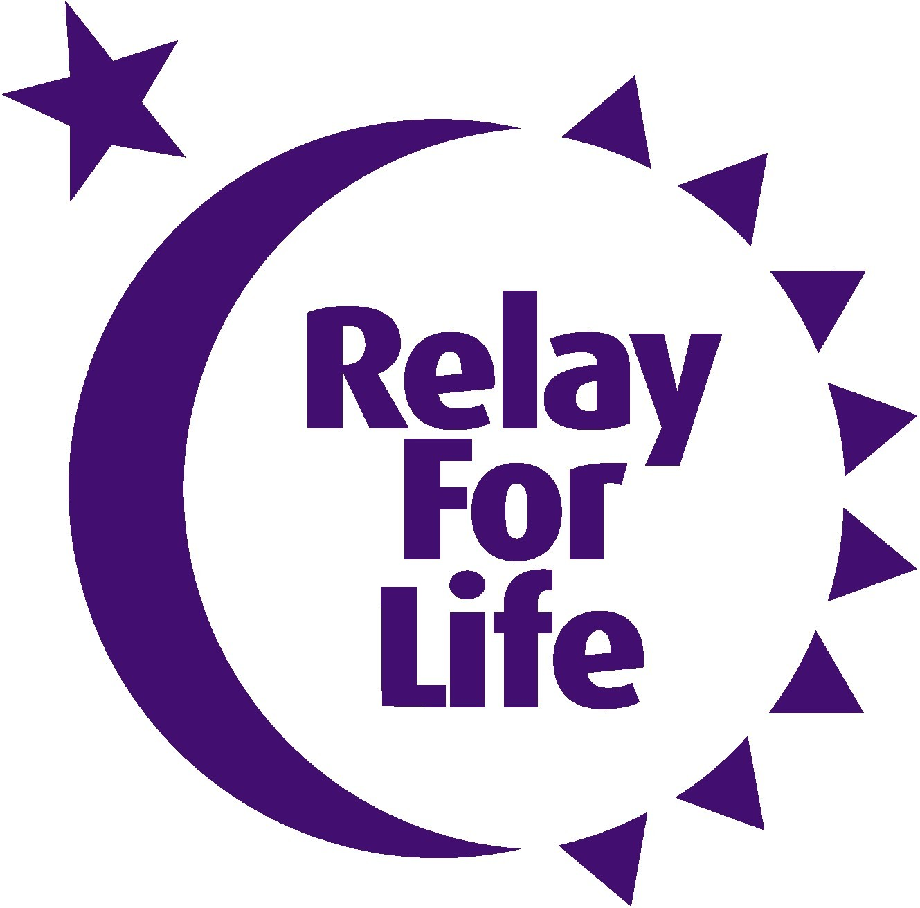 the logo for relay for life