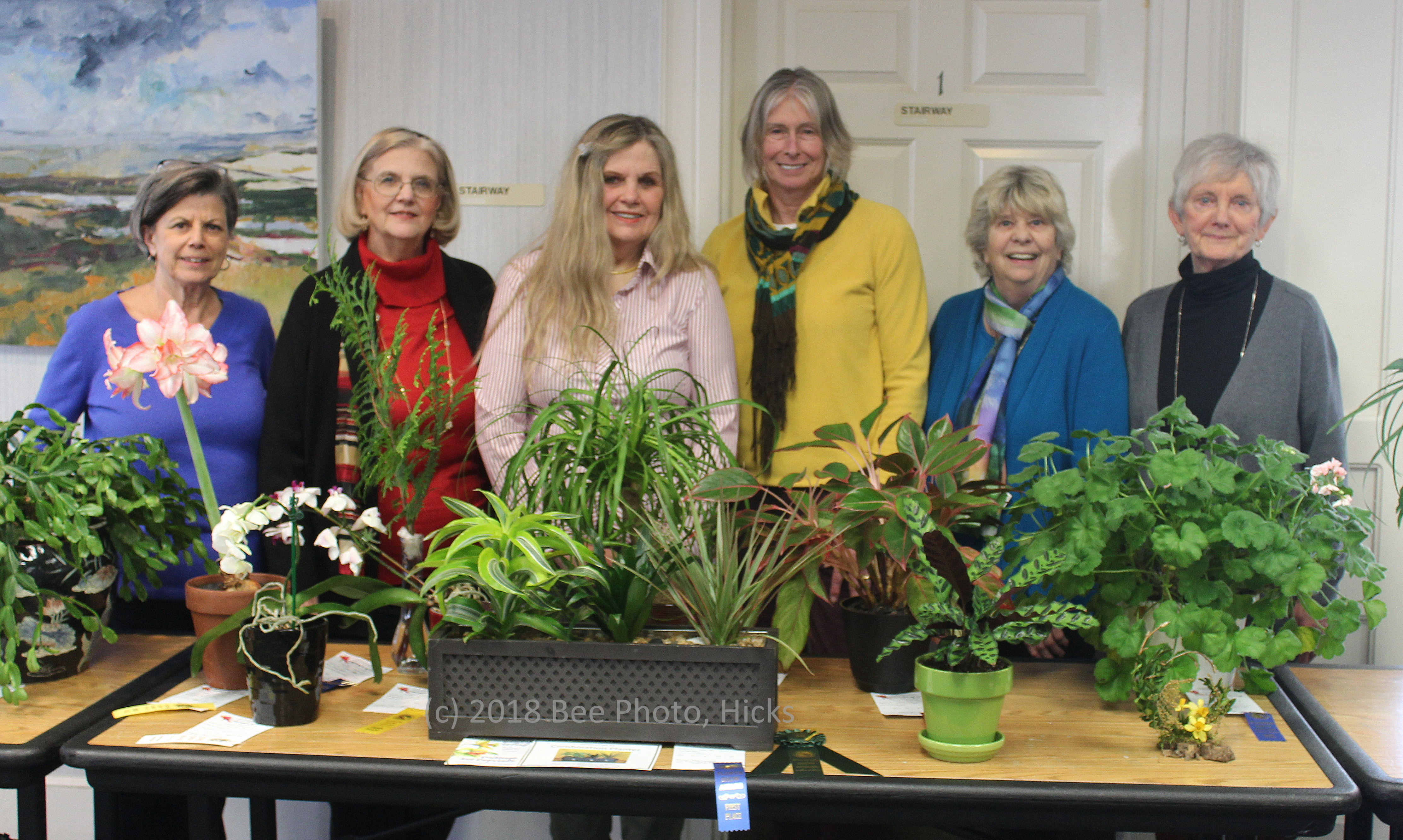 Garden Club S Appearance At State Flower Show Very Successful The