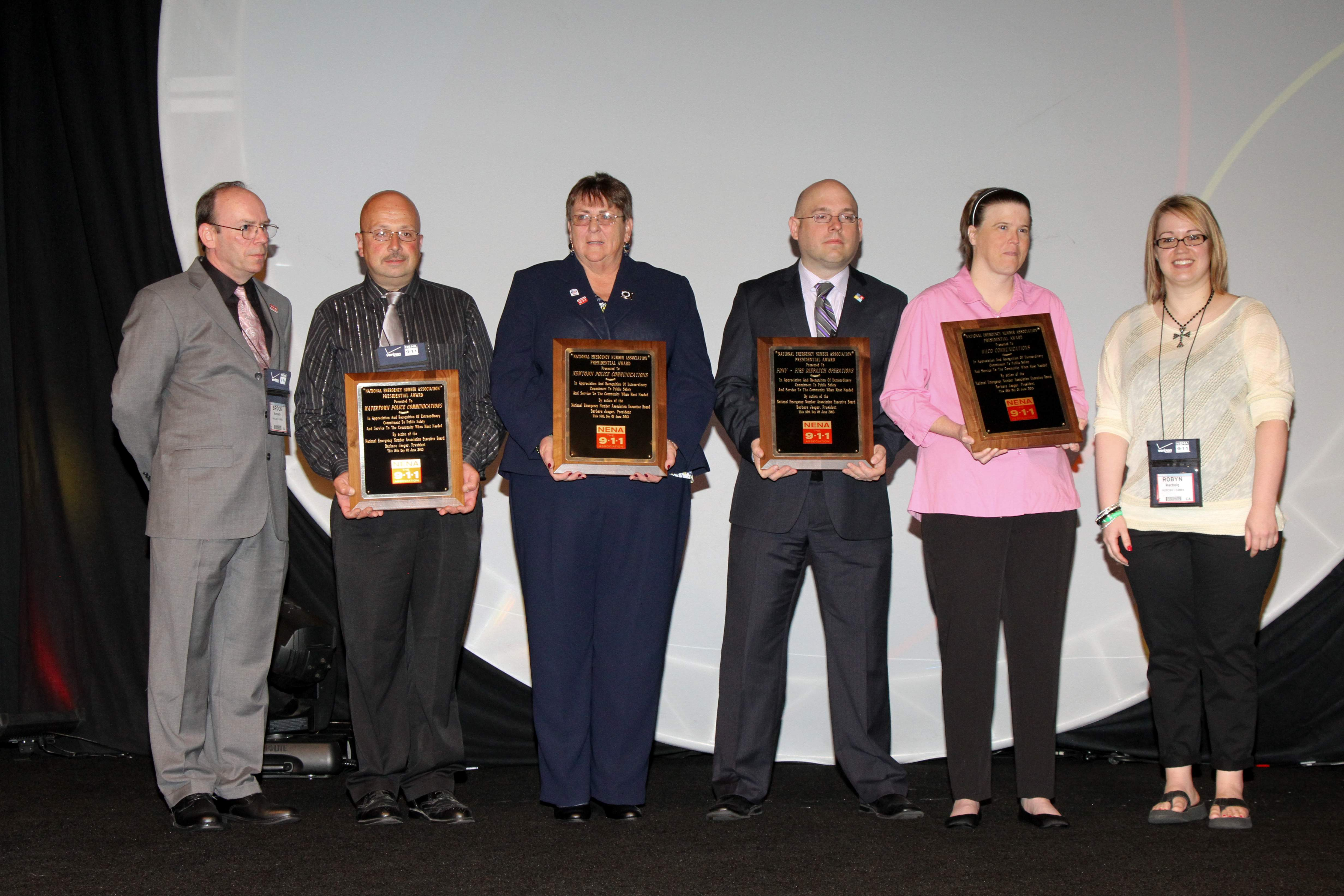 Calm And Professional' Dispatchers Honored   The Newtown Bee
