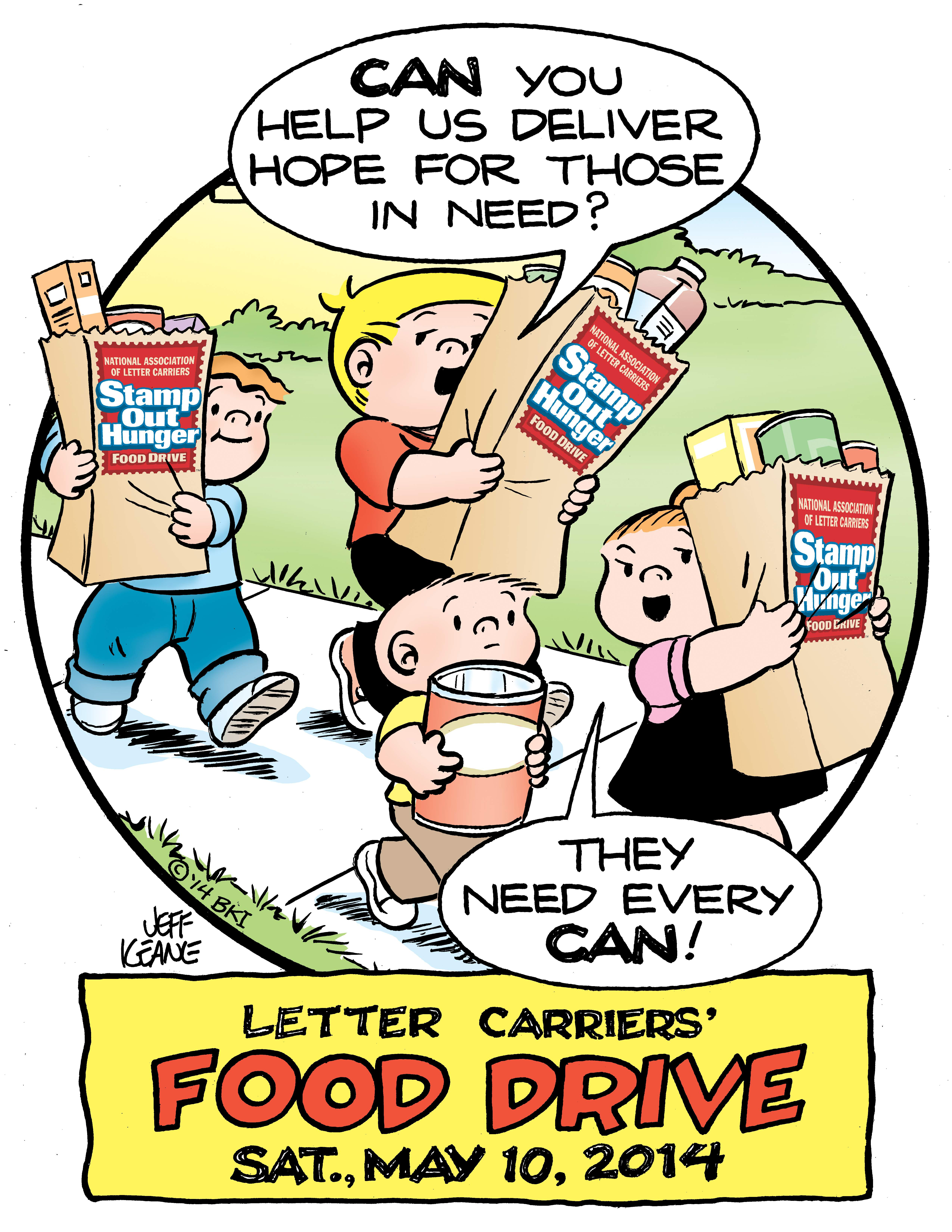 on saturday may 10 letter carriers in more than 1200 branches nationwide will participate in the 22nd annual letter carriers food drive