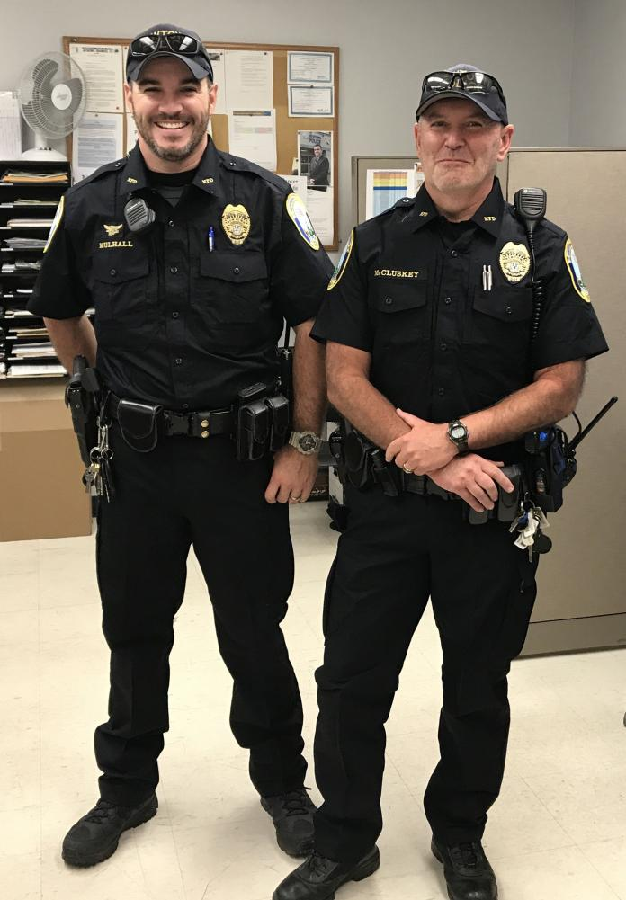 bae34f7d1ef Blue Uniforms Give A New Look To Newtown Police