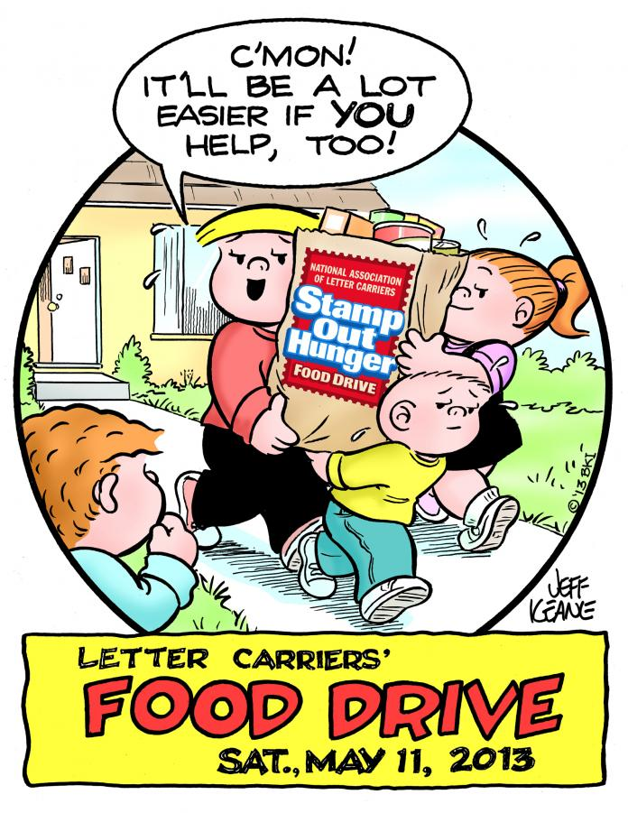 letter carriers annual food drive is may 11 the newtown bee
