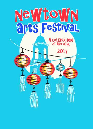The Newtown Arts Festival weekend has taken place, but Newtown Cultural Arts Commission still has plenty of individual events lined up.  Most are free of charge; donations benefit NCAC's Scholarship & Grants Fund. (Linda Parsloe illustration)