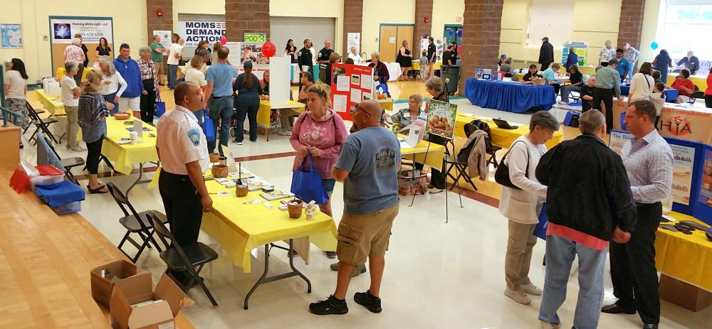 Organizers Mae Schmidle, Della Schmid, and Health District Director Donna Culbert have announced the 24th Annual Newtown Health and Public Safety Fair will be held at the Reed Intermediate School cafetorium Saturday, September 16, from 9 am to 1 pm…
