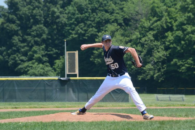 Kyle Roche pitched the Admirals to a win over Shelton. (Bee Photo, Hutchison)
