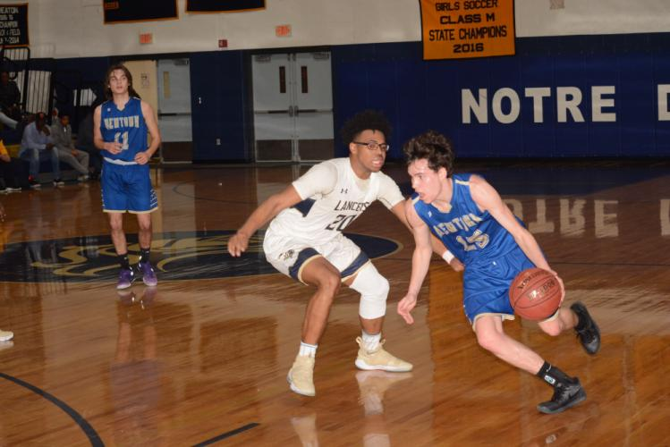 Nick Weiland, right, and the Nighthawks, are competing in the new Division II state bracket. (Bee Photo, Hutchison)