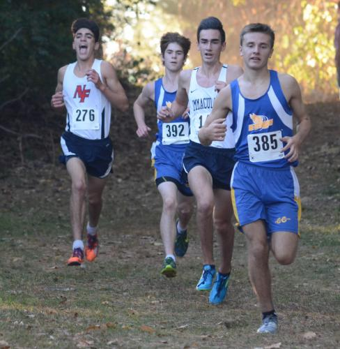 Ryan Escoda (No. 385) and Nick Jacobs (No. 392) finished third and fifth, respectively. (Bee Photo, Hutchison)
