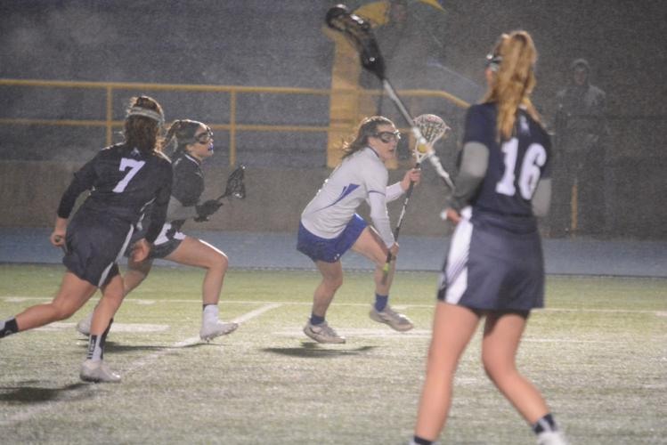 Ali Kelleher controls the ball during Newtown's win over Immaculate. (Bee Photo, Hutchison)