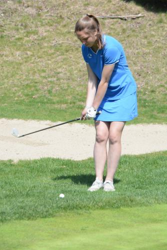 Sarah Houle was a strong golfer, soccer player, and runner at NHS. (Bee Photo, Hutchison)
