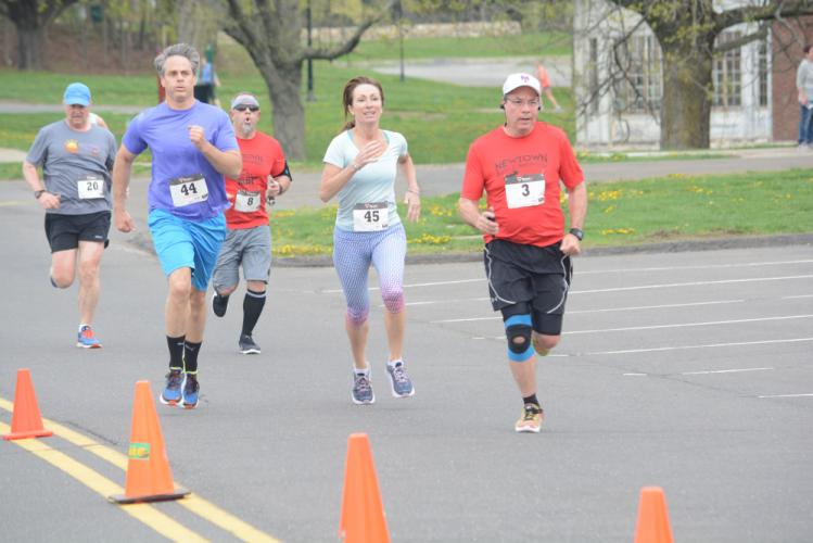 Participants complete the Rooster Run 5K in 2917. This year's race will be held on Saturday, June 23. (Bee Photo, Hutchison)