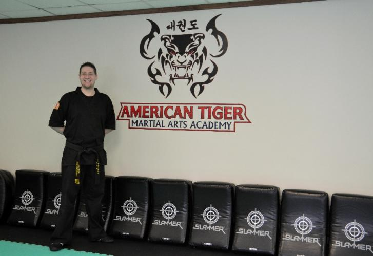 American Tiger Martial Arts Owner and Head Instructor Rob Barghaus stands in his recently opened studio at 180 Old Hawleyville Road in Bethel. American Tiger Martial Arts offers classes for children, teens, and adults at all experience levels. (Bee…