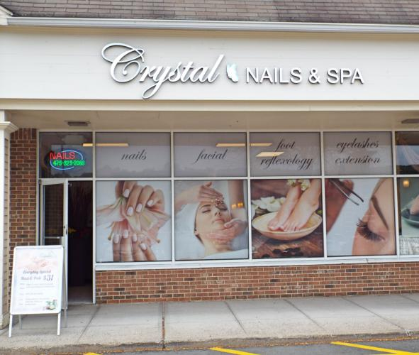 Crystal Nails & Spa opened in May and is in the Sand Hill Plaza, 228 South Main Street. It offers everything from manicures and pedicures to facials and massages. (Bee Photo, Silber)