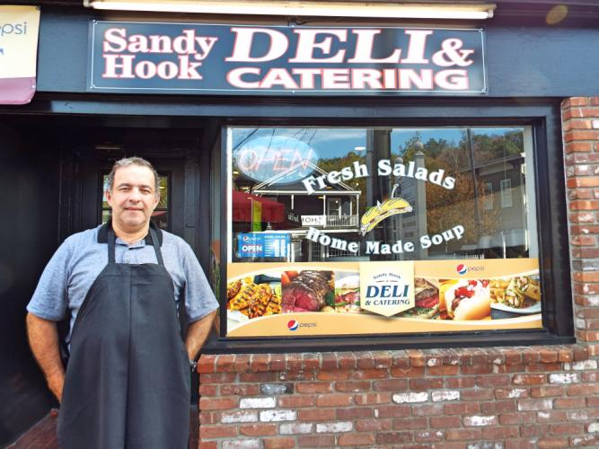 In August, Carlos Dos Santos became the new owner of Sandy Hook Deli & Catering, 102 Church Hill Road. The deli will continue to have the menu customers know, while also adding new elements like a salad bar and more sweets. (Bee Photo, Silber)