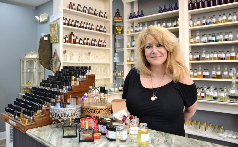 Owner Angela Gallo recently relocated her perfume and aromatherapy supply shop, The Parfumerie, to 246 Main Street in Danbury. The store is now open offering an expansive inventory of everything from essential and perfume oils to incense to custom…