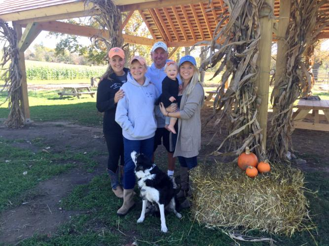 Owned and operated by the Paproski family for 90 years, and currently under the direction of Steve and Diana Paproski, Castle Hill Farm on Sugar Lane in Newtown will celebrate a milestone anniversary on Saturday, October 28. Pictured from left are…