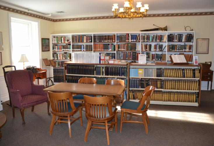 The Genealogy Room at the C.H. Booth Library is now located on the third floor of the library and contains a variety of resources for those looking for information on local family genealogies. (Bee Photo, Silber)