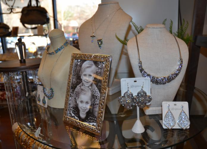 A popular brand at Lorraine K. Boutique is Brighton, which has a selection of jewelry displayed near the front of the store. (Bee Photo, Silber)