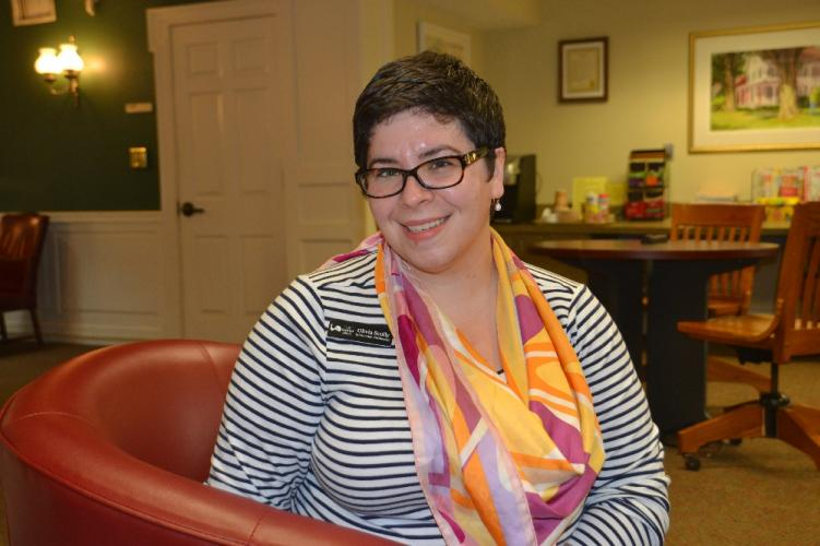 Olivia Scully has been named the new Information Technology Librarian at C.H. Booth Library.  (Bee Photo, Silber)