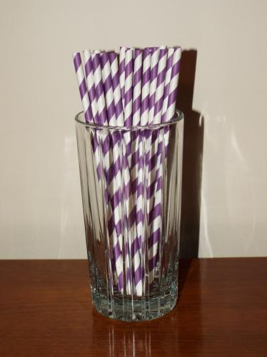 More people are eliminating their use of plastic straws and opting to enjoy beverages with no straw or plastic straw alternatives, like paper straws pictured here. (Bee Photo, Silber)