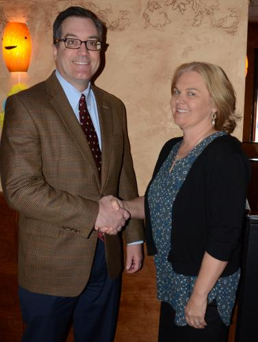 Newtown Chamber of Commerce President Tim Haas welcomed local resident Helen Brickfield to the new chamber position of business development director during a breakfast meeting April 5. Ms Brickfield will handle a number of responsibilities,…
