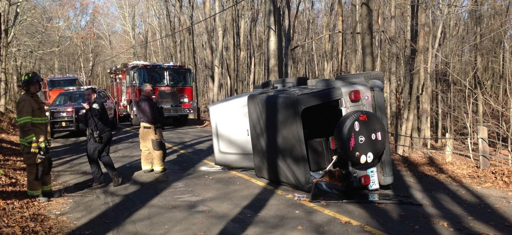 Motorist Christopher Leon, 20, of Newtown was driving a 2000 Jeep Wrangler SUV northward on Birch Hill Road, north of Cannon Drive, about 12:29 pm on November 24, when the vehicle went to the right and then traveled off the roadway, striking a…
