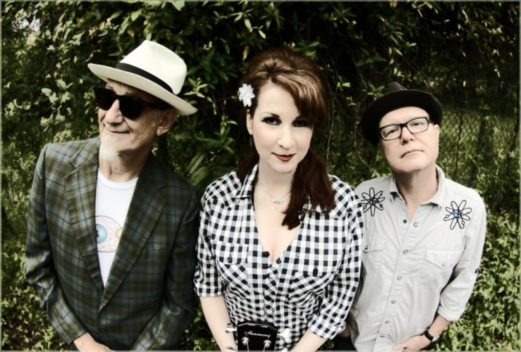 From left is Rick Miller, Mary Huff, and Dave Hartman of Southern Culture On The Skids - aka SCOTS - who are bringing their unique brand of countryfied, southern fried, psychobilly into Daryl's House in Pawling, N.Y., on Sunday, June 24.  (photo…