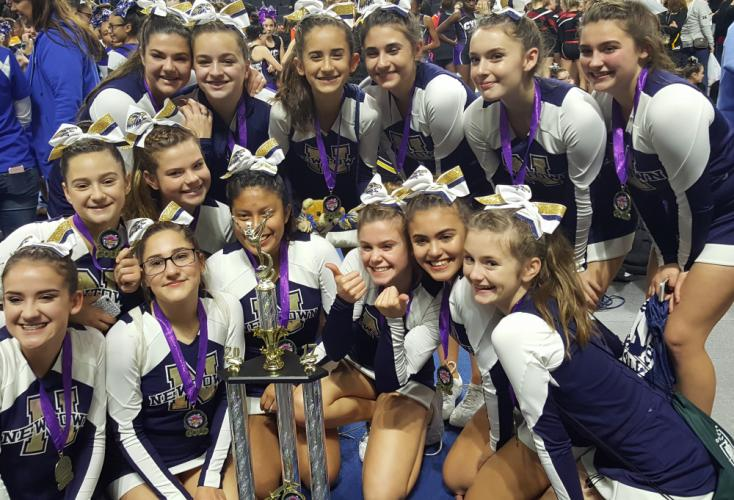 The D14 cheerleaders are headed to the national championships.