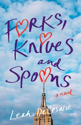 <i>Forks, Knives, and Spoons</i>, the first novel by former Newtown resident Leah DeCesare, is a fun ride through the college culture of the late 80s and early 90s.  (SparkPress)