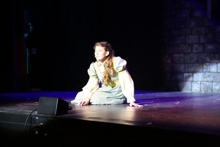 McKenzie Iazzetta sings as Fantine.  (Bee Photo, Hallabeck)