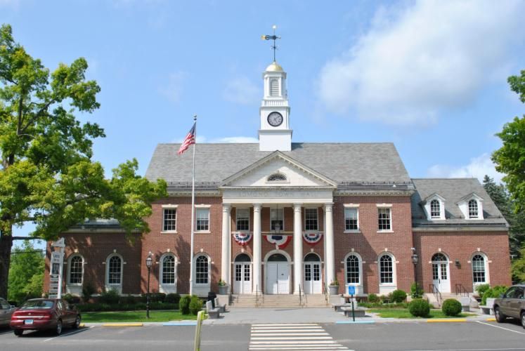 Proposed 'landmark properties' zoning regulations could benefit Edmond Town Hall.