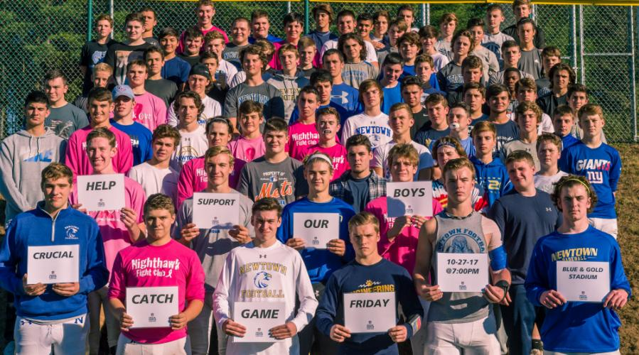 The Nighthawks are asking fans to help them raise money for Crucial Catch during the Friday, October 27 game against Stratford, beginning at 7 pm. (Mike Salaris photo)