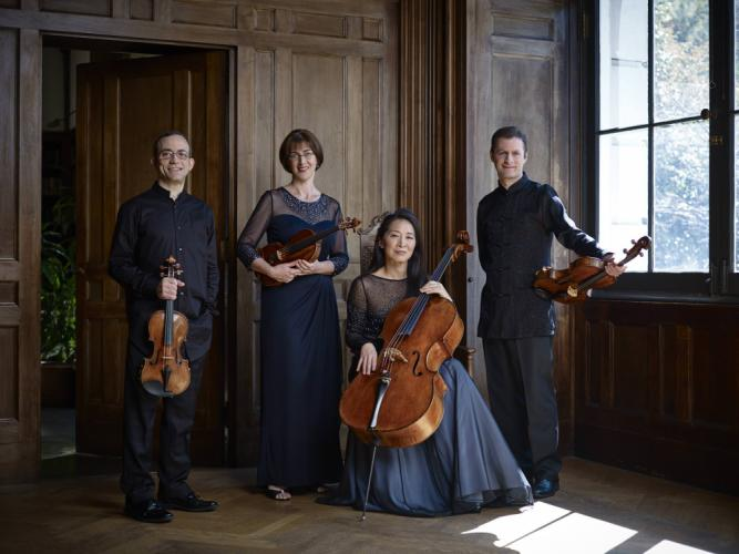 Brentano String Quartet, who have performed around the world to popular and critical acclaim since its inception in 1992, will be one of two celebrated quartets performing the Newtown Friends of Music farewell concert this month.  (Juergen Frank photo)