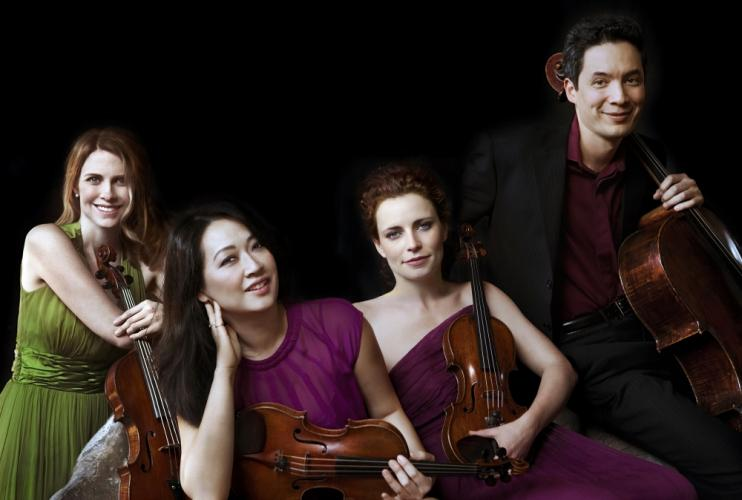 Newtown Friends of Music will host a Farewell Concert on Sunday, October 15, at Edmond Town Hall. Daedalus Quartet has been selected to be one of two acclaimed quartets to perform during the final concert.  (Lisa-Marie Mazzucco photo)