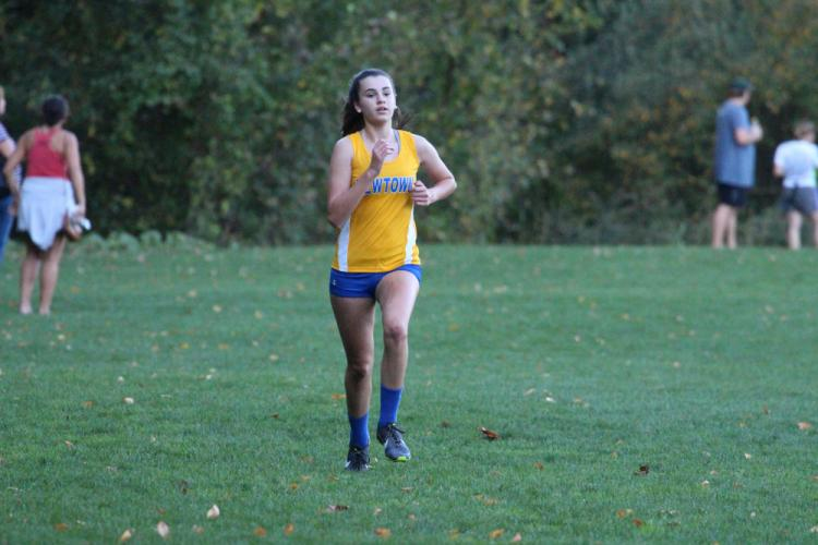 Emily Tressler won the race in a time of 19:51. (Brandy Jacobs photo)