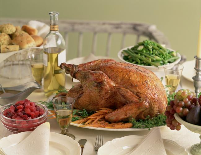 The traditional Thanksgiving turkey, served whole and stuffed, can be a prime source of foodborne illness and contamination if not prepared to the right temperature, and served within an appropriate window of time according to the Newtown Health…
