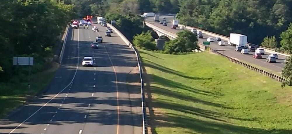 Traffic crossing the Rochambeau Bridge on I-84 found delayed traffic both directions the morning of July 12, due to a state police investigation of a motorcycle fatality. Eastbound traffic - which was being diverted into the shoulder of one of the…