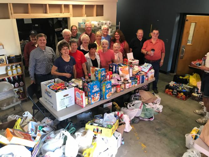 In honor of Labor Day Parade Grand Marshal Lee Paulsen, donations for FAITH Food Pantry were collected during the parade. The following morning on Tuesday, September 5, Ms Paulsen and a group of volunteers helped unload all the donations from the…