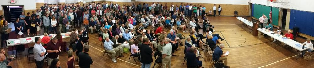 Republican Registrar of Voters Carey Schierloh verified that 310 qualified GOP supporters in addition to other non-voting family members packed the gym at Edmond Town Hall July 24 for the first party caucus in memory featuring contested top of…