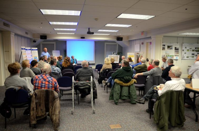 Several dozen residents, officials and presenters gathered February 11 at the Booth Library for a Newtown Forest Association (NFA)/Pootatuck Watershed Association (PWA) open house, which included several workshops all focusing on preserving and…