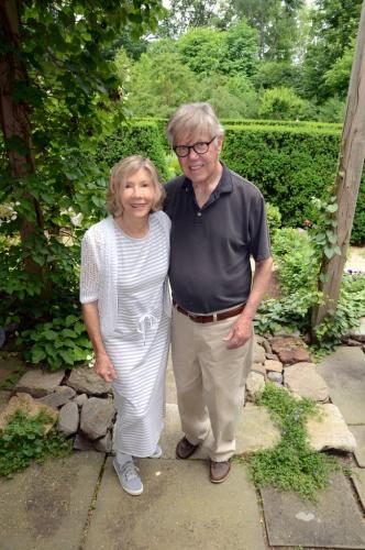 Jean and Lincoln Sander have appreciated and improved their property at the intersection of Glen and Walnut Tree Hill Roads since purchasing it in 2002. The couple offered it to Newtown Historical Society for a unique single-stop House & Garden Tour…